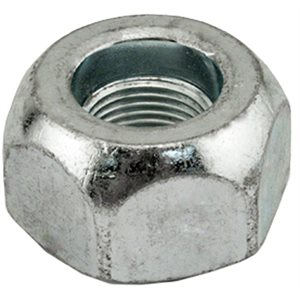 OUTER STD. CAP NUT 1 1/2 HEX LEFT HAND