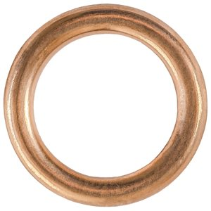 OIL DRAIN PLUG CRUSHABLE STEEL GASKET 14MM I.D.