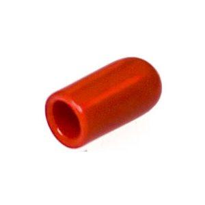 VINYL VACUUM CAP RED FOR 1/4 DIA. TUBE