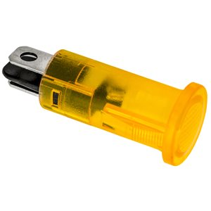 LED INDICATOR LIGHT WITH AMBER LENS