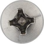 M6- 1.0 X 12MM PHILIPS PAN HEAD LICENSE PLATE SCREW
