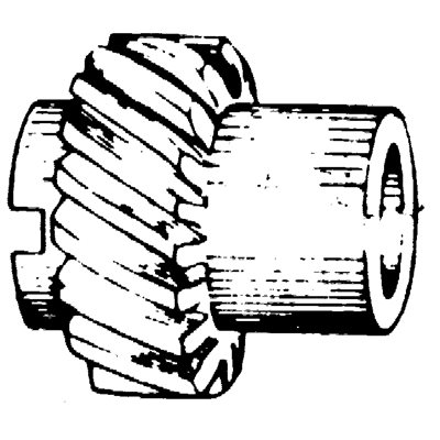 CHRYSLER DISTRIBUTOR GEAR
