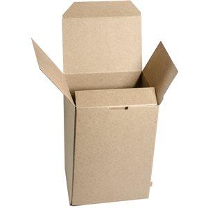 PLAIN KRAFT FOLDING BOXES