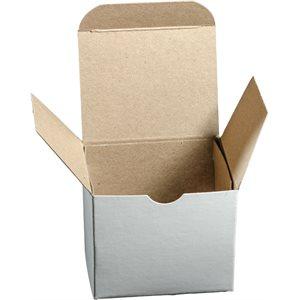 PLAIN KRAFT FOLDING BOXES 2-3/4 X 1-1/2 X 1-3/4